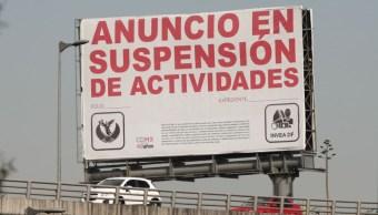 Para 2018 sólo existirán 2 mil anuncios publicitarios en calles de CDMX, asegura Invea