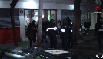 Ataque a bar en la colonia Doctores deja tres heridos