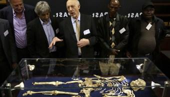 Hallan en Sudáfrica esqueleto de Australopithecus
