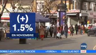 Autoridades Confirman Inflación Zona Euro