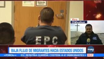 Baja Flujo Migrantes Estados Unidos Autoridades Estadunidenses