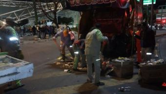 Prevén recolección de mil 500 toneladas de basura durante estancia de peregrinos