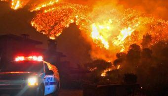 Incendio en California se convierte en el tercero más grande registrado