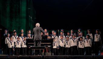 Niños cantores de Viena ofrecen concierto navideño en Campeche