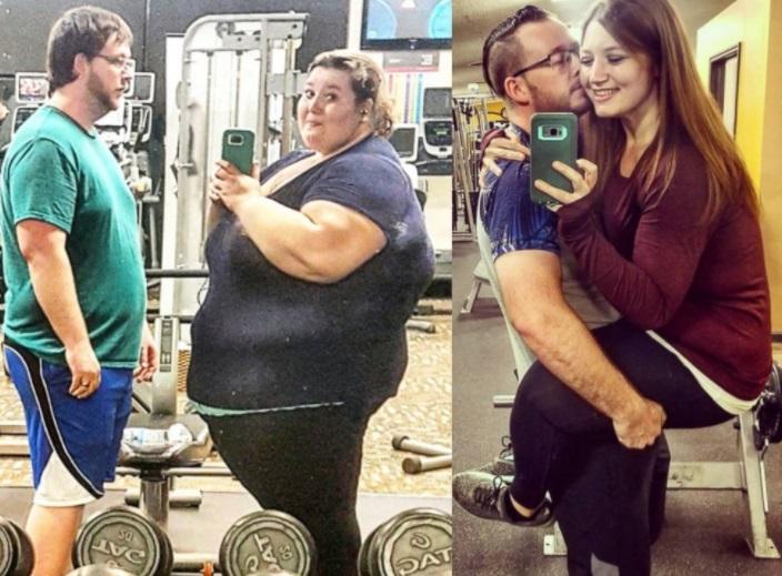 Pareja pierde 180 kilos y comparte historia en Instagram