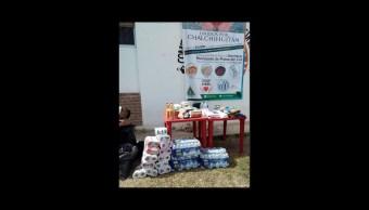 Abren centros de acopio para desplazados de Chalchihuitán