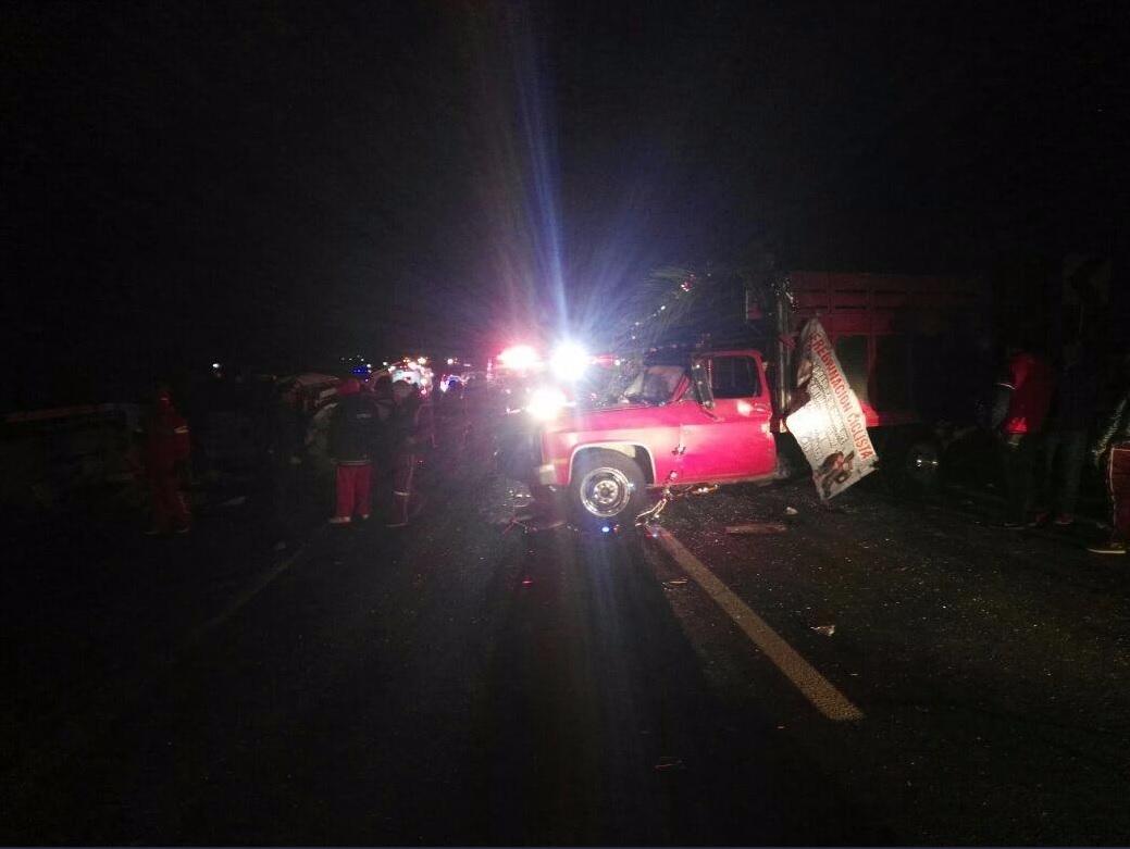 10 peregrinos mueren en un accidente en la México-Puebla
