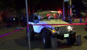Dos accidentes automovilísticos en CDMX dejan un muerto y cinco heridos