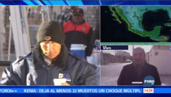 Coahuila Espera Nuevo Frente Frío
