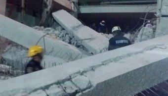colapsa edificio construccion merida yucatan cuatro muertos