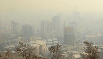 Teherán se ahoga en la contaminación pese a políticas medioambientales