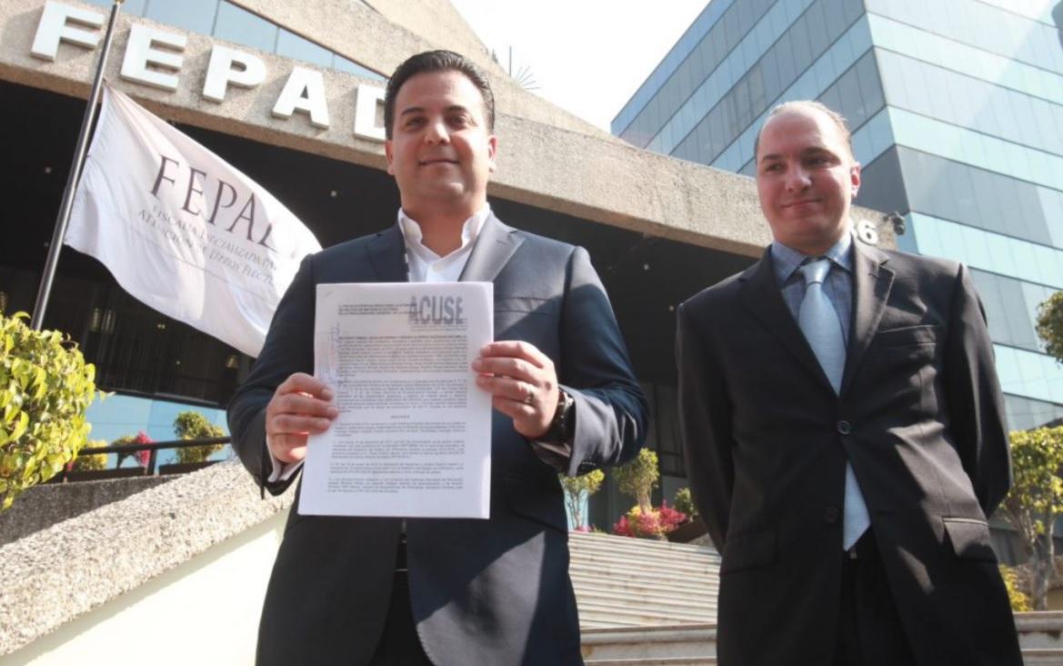 PAN denuncia triangulación de recursos del PRI