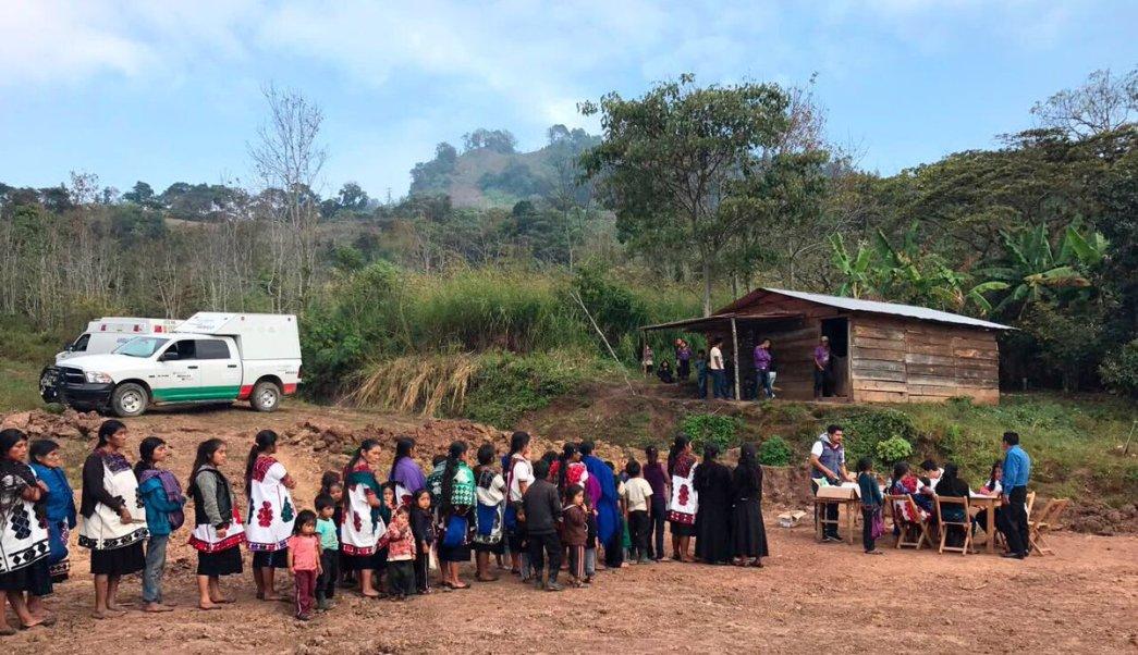 desplazados chenalho piden intervencion gobierno conflicto agrario