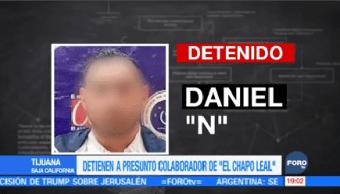 Detienen presunto colaborador El Chapo Leal Tijuana