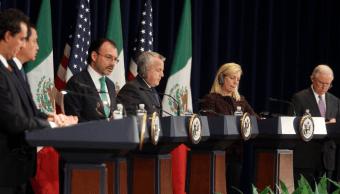 México y EU presentan avances del diálogo binacional sobre combate al narcotráfico
