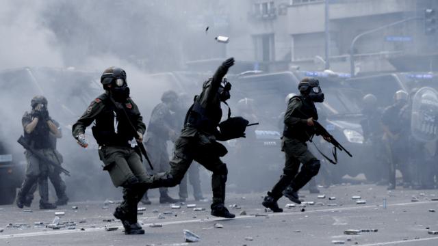 Disturbios en Argentina por reforma a sistema de pensiones