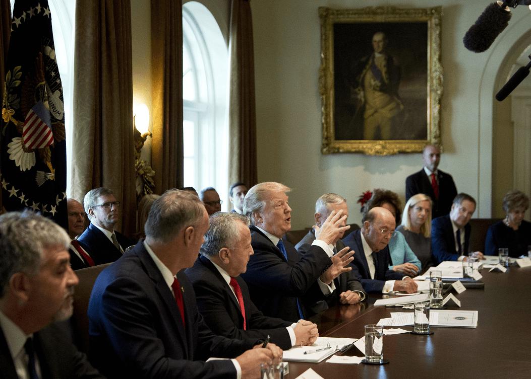 Trump reconoce un posible cierre de gobierno; culpa a demócratas