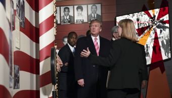 Trump asiste a inauguración de museo sobre lucha de afroamericanos en Mississippi