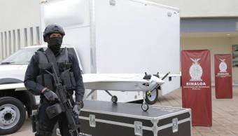 Vigilarán con drones las zonas rurales de Sinaloa