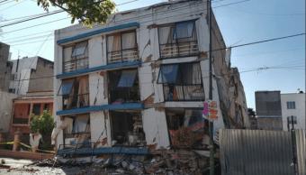 Avanza demolición edificio Saratoga Sismo 19S