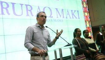 El ministro de Cultura de Perú, Salvador del Solar, renuncia