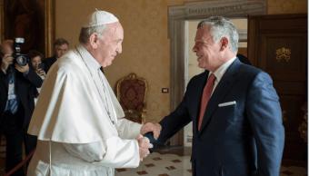 El papa y el rey jordano buscan promover dialogo en Jerusalén