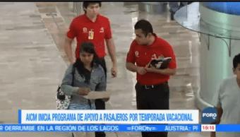 Aicm Inicia Programa Apoyo Pasajeros Temporada Vacacional