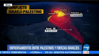 Enfrentamientos Entre Palestinos Fuerzas Israelíes