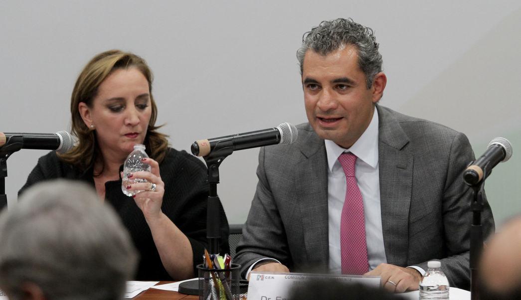 Meade ganará con más del 40% de los votos, asegura Enrique Ochoa