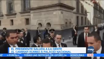 Epn Camina Saluda Gente Centro Histórico