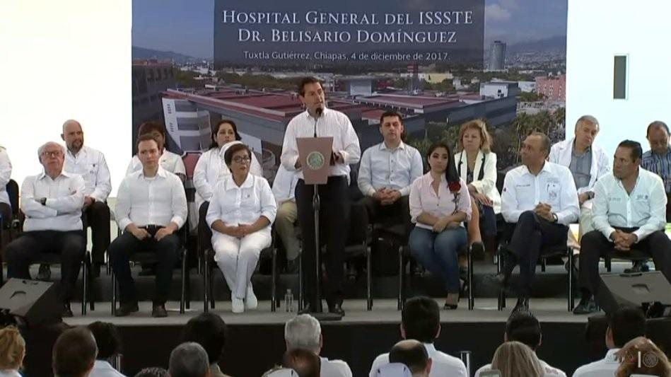 Responderán seguros por la reconstrucción de hospitales tras los sismos: EPN
