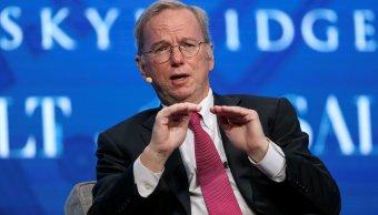 Eric Schmidt deja presidencia Alphabet casa matriz Google