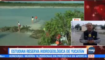 Estudian Reserva Hidrogeológica Yucatán Especialistas