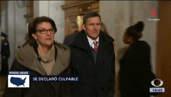 Exasesor Flynn Declara Culpable Trama Rusa Seguridad