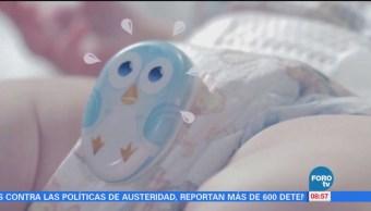 Extra Extra: Dispositivo alerta para cambiar el pañal al bebé