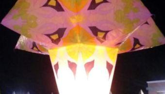 celebran septimo festival nacional globos papel tlaxcala