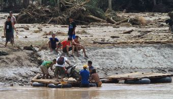México lamenta muertes en Filipinas por tormenta tropical 'Tambin'
