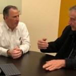 Meade se reúne con expresidente Vicente Fox