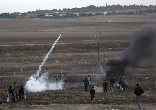 Milicias palestinas en Gaza lanzan dos proyectiles hacia Israel