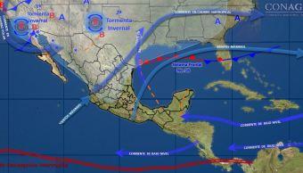 Tercera tormenta invernal de la temporada entra por el noroeste de México