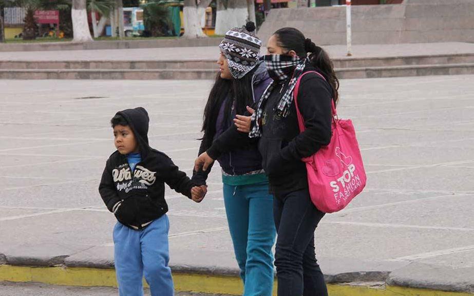Continuarán las bajas temperaturas en el norte y noreste de México