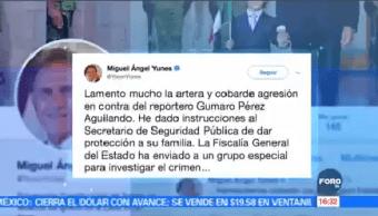 Gobernador Veracruz Lamenta Homicidio Periodista