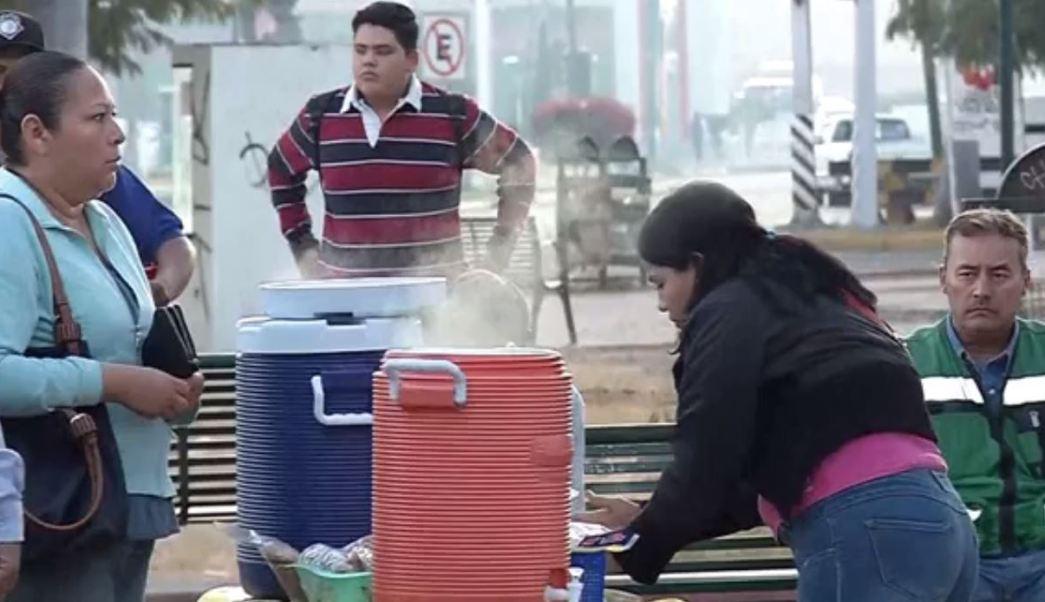 Habitantes de Sonora resienten descenso drástico de temperaturas