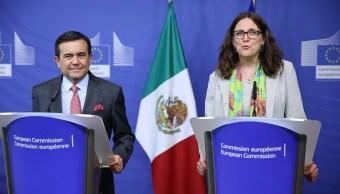 UE y México buscan avanzar en la modernización del tratado comercial