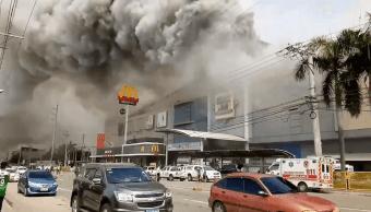 Incendio en Filipinas deja 37 muertos. (Reuters)