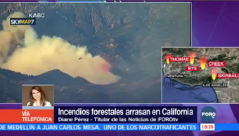 Prevén Aumento Incendios Forestales San Diego California