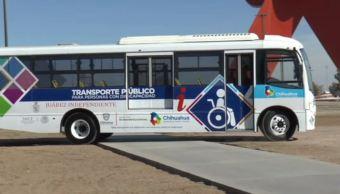 Inicia operaciones transporte público para personas con discapacidad