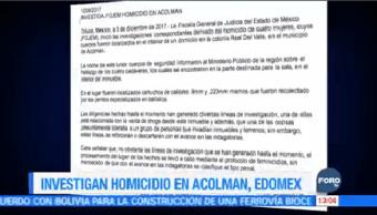 Investigan Muerte Cuatro Mujeres Acolman Edomex