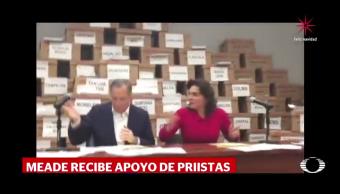 Ivonne Ortega declina, anuncia que apoyará a Meade