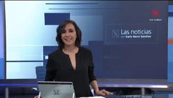 La Noticias, con Karla Iberia- Programa del 8 de diciembre de 2017